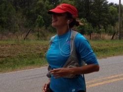 Norma Bastidas runs to Washington D.C. in the last portion of the ultra-triathlon 2014-04-17 13.09.38.jpeg