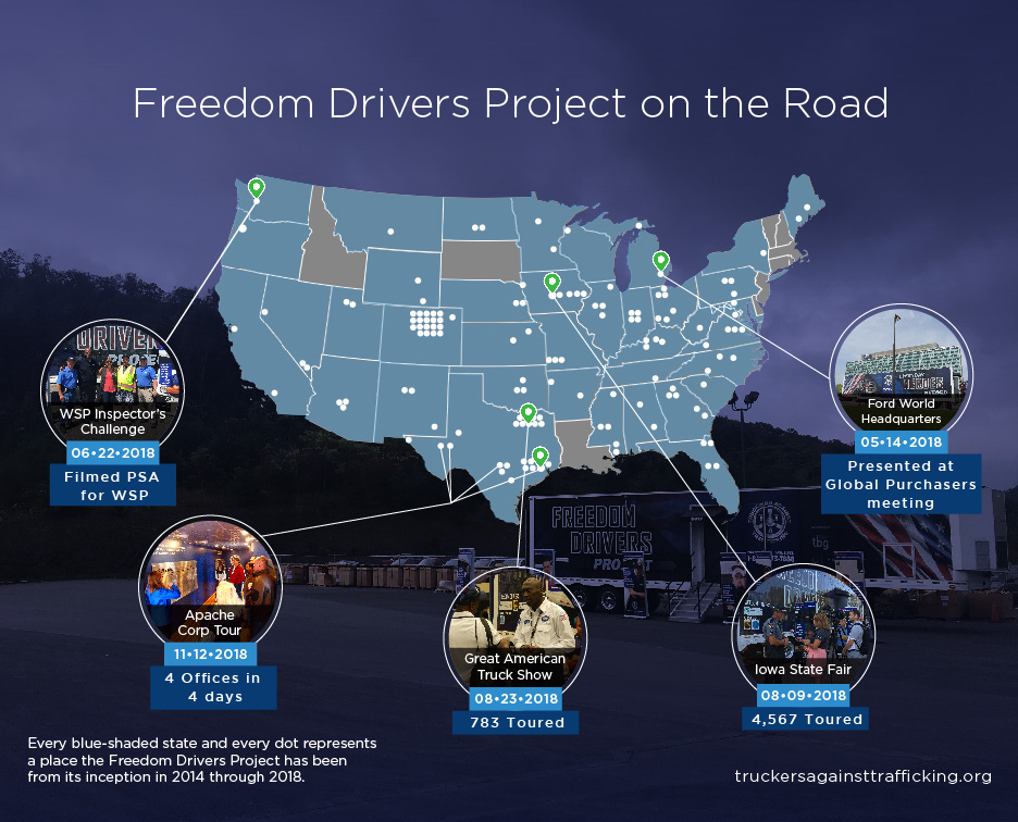 Freedom Drivers Project Homepage • TRUCKERS AGAINST TRAFFICKING