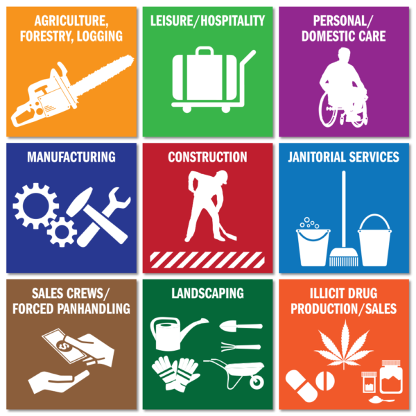Labor Trafficking Sectors