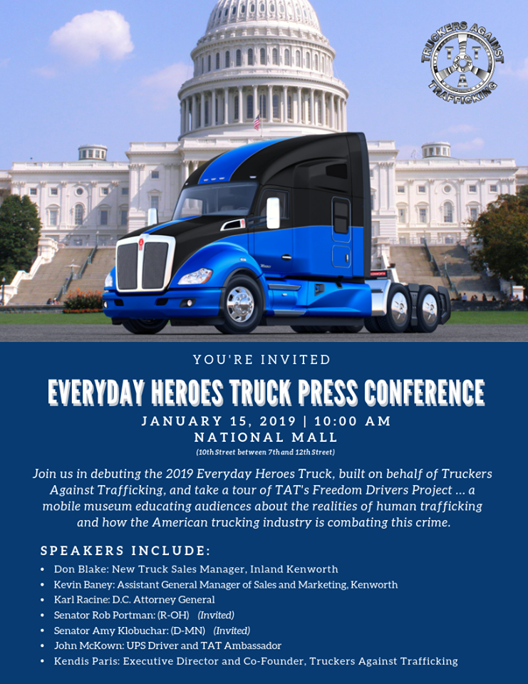 Truck Auction! • TRUCKERS AGAINST TRAFFICKING