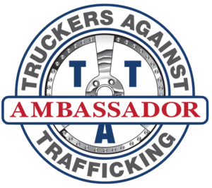 tat tap truckers against trafficking ambassador program logo
