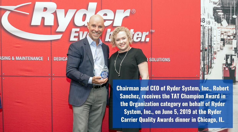 Ryder Champion Award
