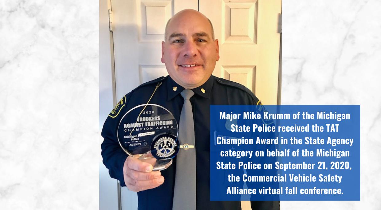 TAT Campion Award - Michigan State Police