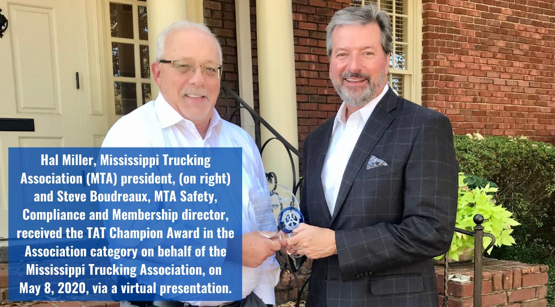TAT Champion Award - MTA